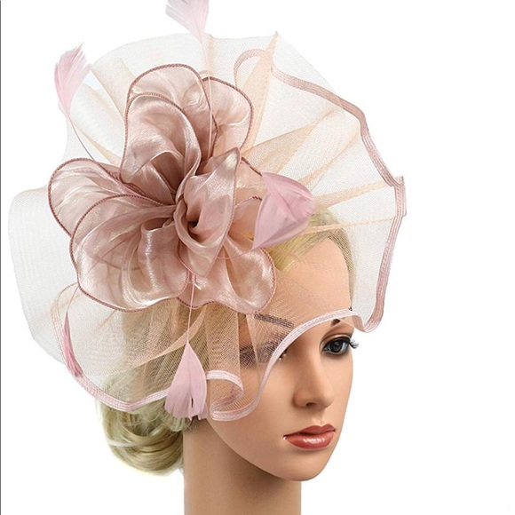 3e0b1cfd43ea1 Kentucky Derby Pink Fascinator Hat